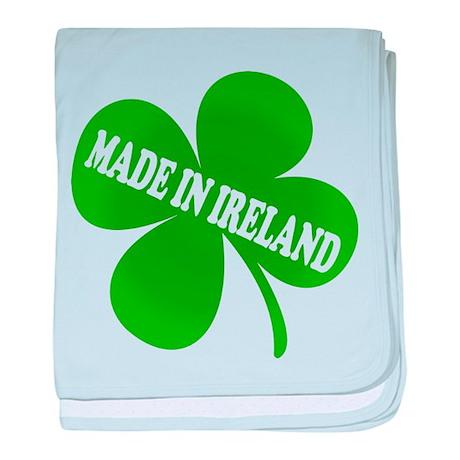 Made in Ireland baby blanket