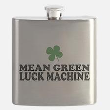 Mean Green Luck Machine Flask