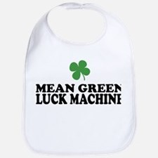 Mean Green Luck Machine Bib