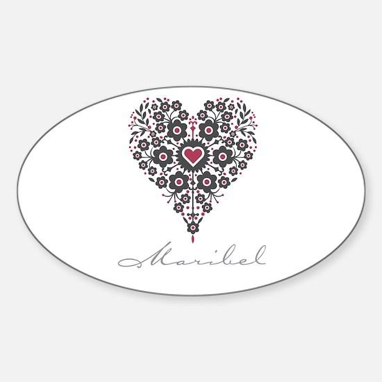 Love Maribel Decal