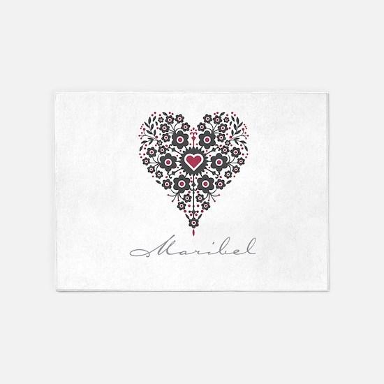 Love Maribel 5'x7'Area Rug