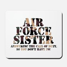 AF Sister Answering the Call Mousepad
