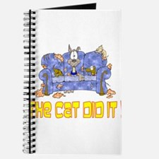 The Cat did it Journal