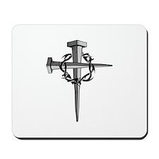 Nail Cross Mousepad