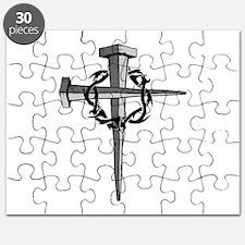 Nail Cross Puzzle