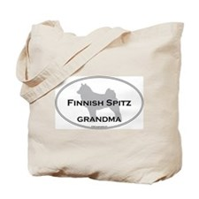 Finnish Spitz GRANDMA Tote Bag