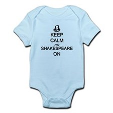 Keep Calm and Shakespeare On Infant Bodysuit