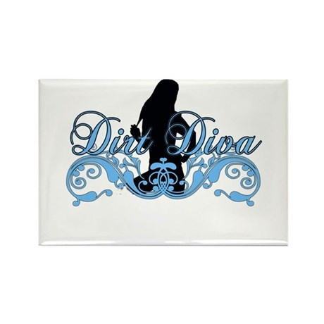 dirtdiva 2013 Rectangle Magnet (10 pack)