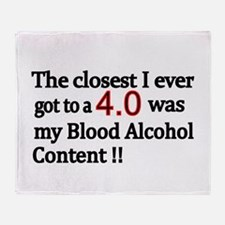 The closest I ever got to a 4.0 was my Blood Alco