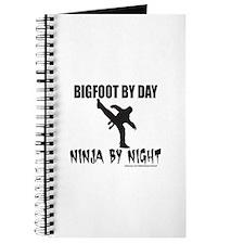 BIGFOOT BY DAY NINJA BY NIGHT Journal