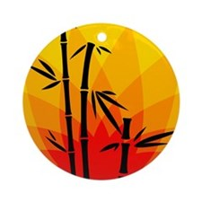 Oriental Design Ornament (Round)