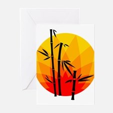 Oriental Design Greeting Cards (Pk of 20)