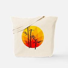 Oriental Design Tote Bag