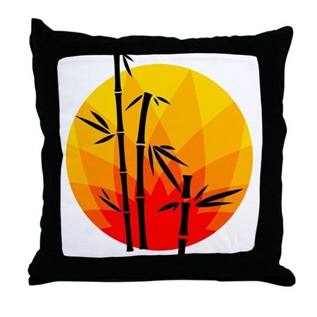 Oriental Design Throw Pillows : Oriental Design Throw Pillow by CoolGiftsandGreatMerch