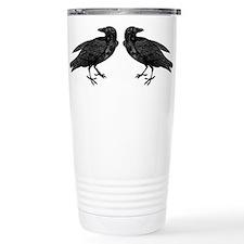 Cute Crow Travel Mug