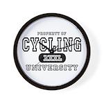 Cycling University Wall Clock