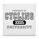 Cycling University Tile Coaster