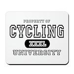 Cycling University Mousepad