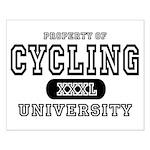 Cycling University Small Poster