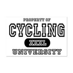 Cycling University Mini Poster Print