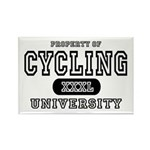 Cycling University Rectangle Magnet