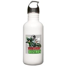 SEEKANDDESTROY copy.png Water Bottle