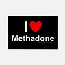 Methadone Rectangle Magnet