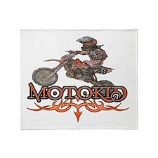 motokid.png Throw Blanket