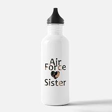 AF Sister Camo Heart Water Bottle