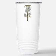 Disc Golf Basket Frisbee Frolf Travel Mug