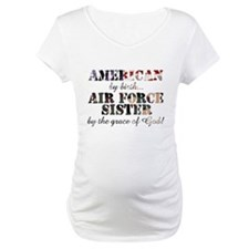 Air Force Sister by grace of God Shirt