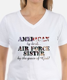 Air Force Sister by grace of God T-Shirt