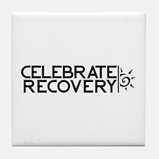 EastLake Church Celebrate Recovery Tile Coaster
