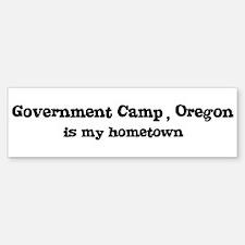 Government Camp - Hometown Bumper Bumper Bumper Sticker