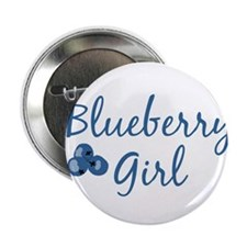 "Cute Blueberry 2.25"" Button"