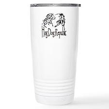 Hog Dog Republic CafePress Logo Travel Mug