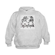 Hog Dog Republic CafePress Logo Hoodie