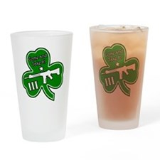 Come and Take It (Shamrock) Drinking Glass