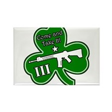 Come and Take It (Shamrock) Rectangle Magnet