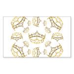 17 queen of hearts crowns Sticker