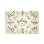 17 queen of hearts crowns Rectangle Magnet