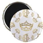 17 queen of hearts crowns Magnet