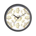 17 queen of hearts crowns Wall Clock