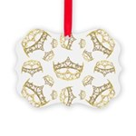 17 queen of hearts crowns Ornament