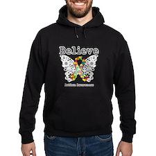 Believe Butterfly Autism Hoodie