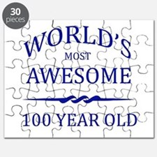World's Most Awesome 100 Year Old Puzzle