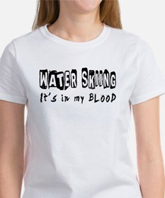 Water Skiing Designs Tee