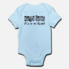 Water Skiing Designs Infant Bodysuit
