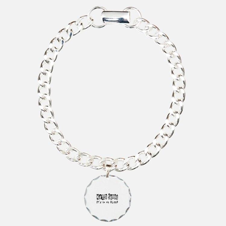 Water Skiing Designs Bracelet
