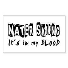 Water Skiing Designs Decal
